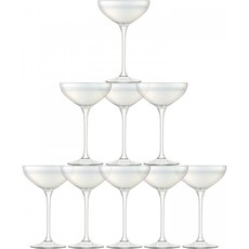 LSA Tower Champagne Mother Of Pearl Set Of 10
