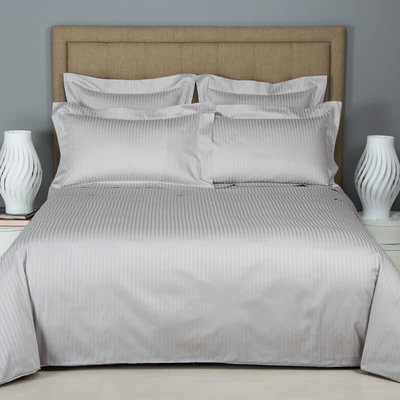 FRETTE Atlantic Queen Duvet Cover Grey Cliff 91 X 91''