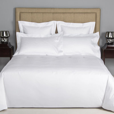 FRETTE Hotel Cruise King Duvet Cover White / White 265 x 230''