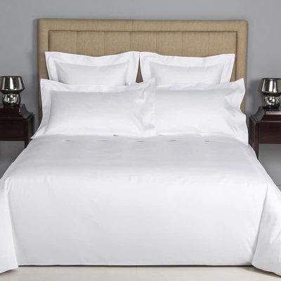 FRETTE Hotel Cruise Housse De Couette Queen Blanc / Blanc 230 X 230''