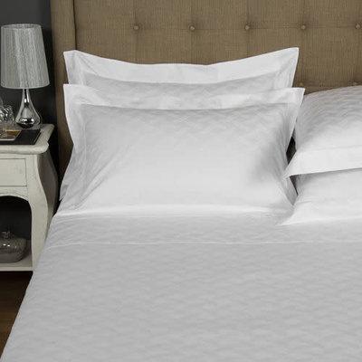 FRETTE Riviera Euro Sham White 26 X 26''