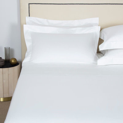FRETTE Single Ajour Queen Ensemble De Draps Blanc