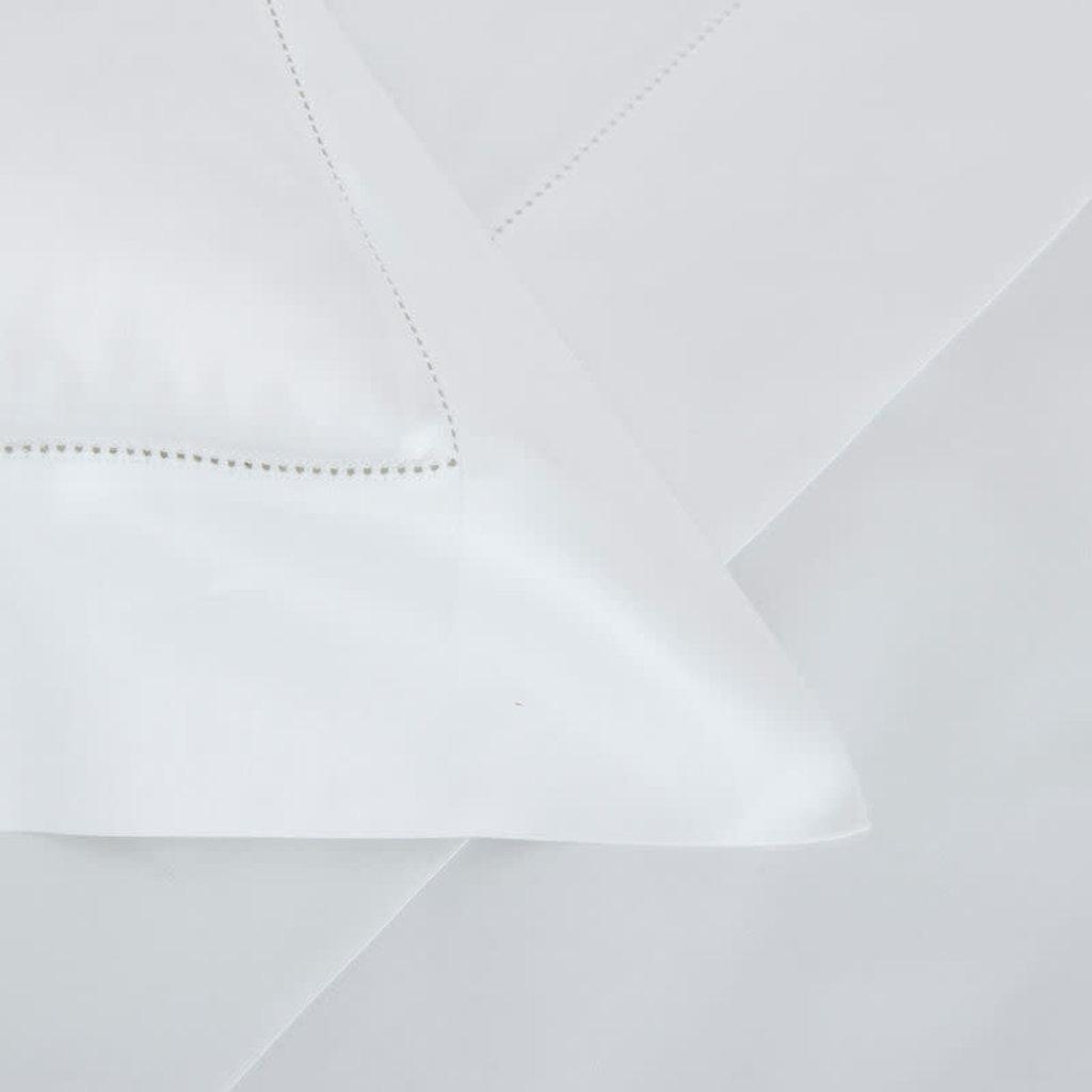 FRETTE Single Ajour Queen Ensemble De Draps Blanc