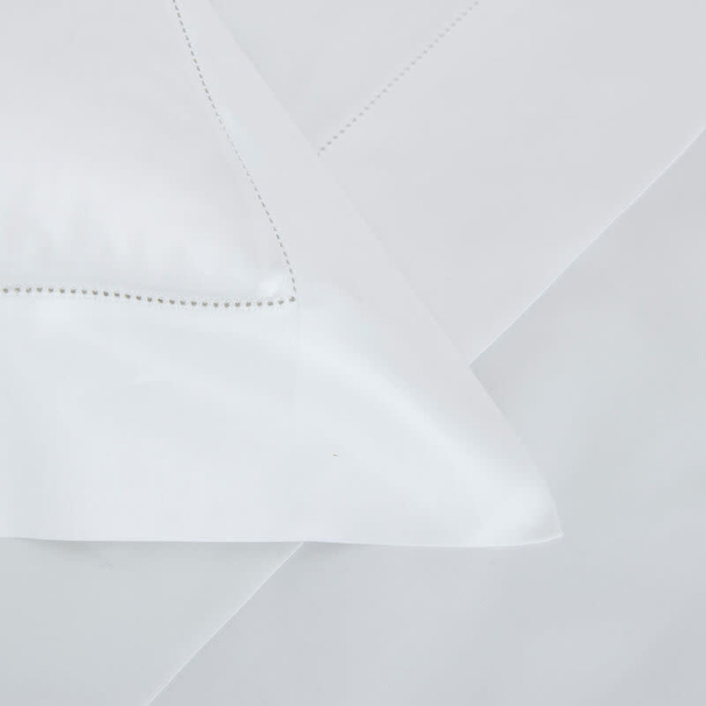 FRETTE Single Ajour Queen Duvet Cover White 230 X 230''