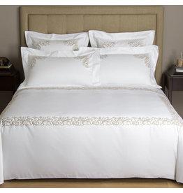 FRETTE Granada Ricamo King Bedset White / Natural