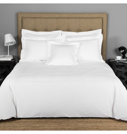 FRETTE Hotel Classic King Duvet Cover White / White