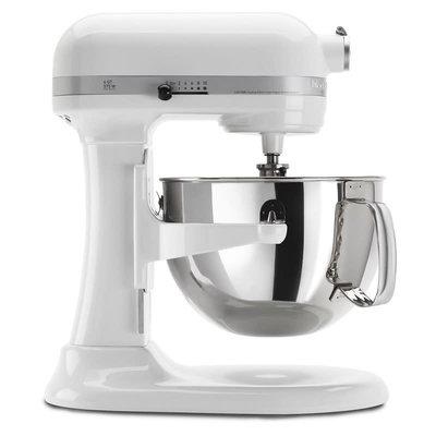 KITCHENAID White Pro 600 Series 6 Quart Bowl-Lift Stand Mixer