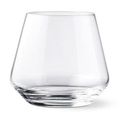 SCHOTT ZWIESEL Tritan Pure Stemless Wine Tumbler Burgundy 17.1 Oz Set/6