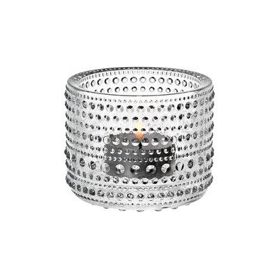 "IITTALA Kastehelmi Tealight Candleholder Clear 2.5"""