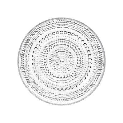 """IITTALA Kastehelmi Sm Plate 6.75"""" Clear"""