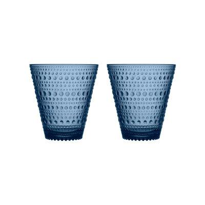 "IITTALA Kastehelmi Tealight Candleholder Grey 2.5"""