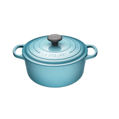 LE CREUSET Caribbean 4.2L Round French Oven 24Cm
