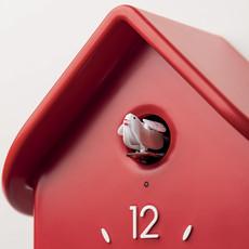 GUZZINI Qq Cuckoo Clock With Pendulum Red