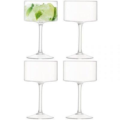 LSA Otis Champagne / Cocktail Glasses Set/4