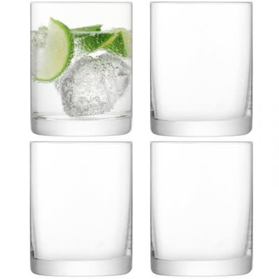 LSA Otis Tumbler Glasses Set/4