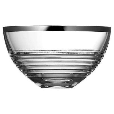 WEDGWOOD Grosgrain Nouveau Bowl Crystal 10''