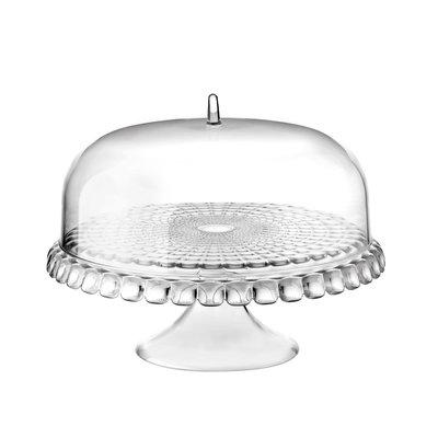 GUZZINI Cake Stand With Dome 'Tiffany' Transparent
