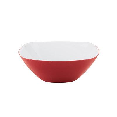 GUZZINI Two-Tone Bowl Vintage Plus - White/Red