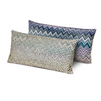 MISSONI HOME Jarris Jamilena Cushion 12X24 In. (Color 150)