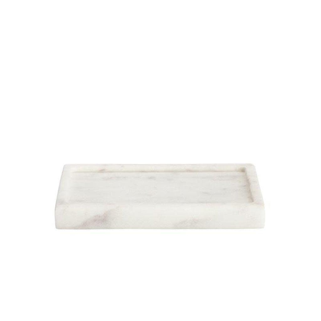 BELLE DE PROVENCE Marble Soap Dish 5.5 x 3.5 x 0.75''