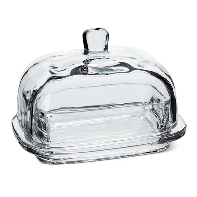 "ABBOTT Lg Rect Covered Butter Dish-7""L"