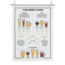 "ABBOTT Beer Guide Tea Towel-20X28""L"