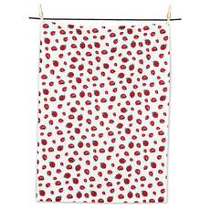 "ABBOTT Ladybugs Tea Towel-20X28""L"