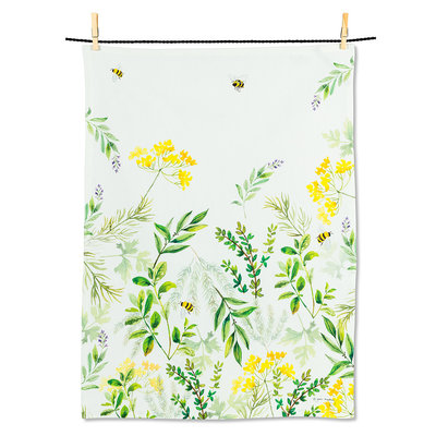 "ABBOTT Herb Garden Tea Towel-20X28""L"