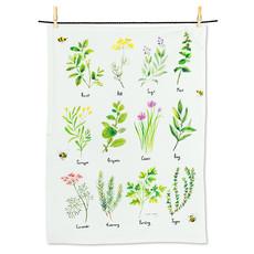 """ABBOTT 12 Herbs Tea Towel-20X28""""L"""