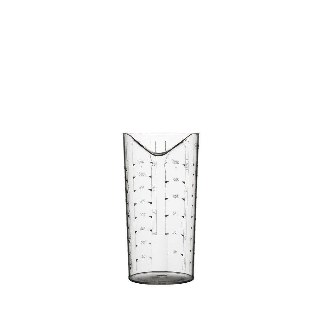 PORT-STYLE Measuring Beaker 0.5L Clear