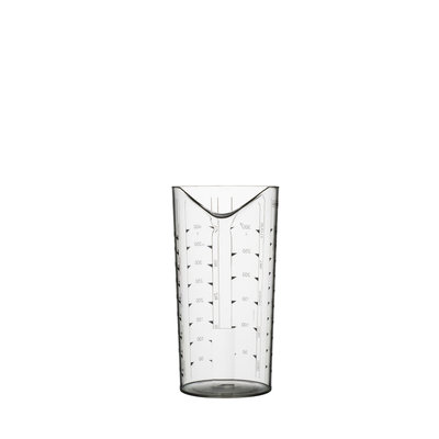 PORT-STYLE Measuring Beaker 0.5L Clear
