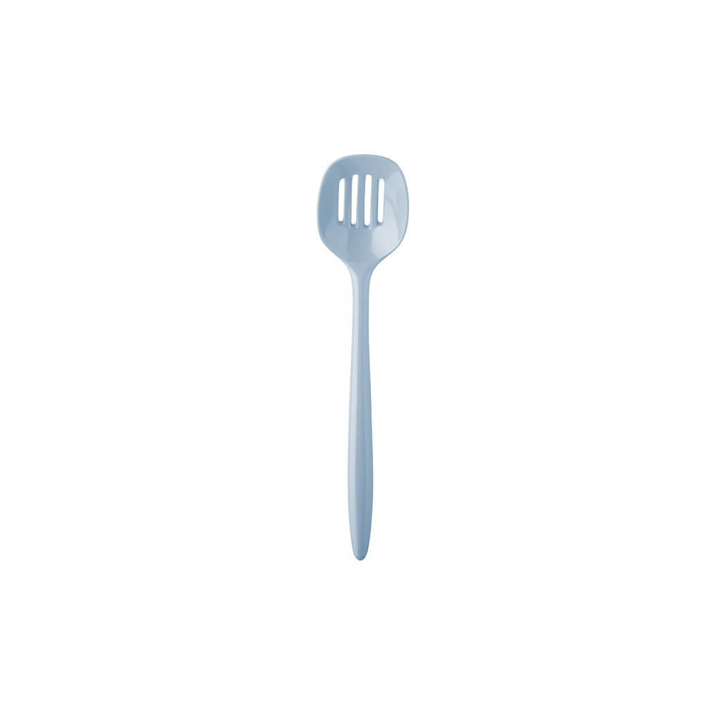 """PORT-STYLE Slotted Spoon 30Cm/12"""" Blue"""