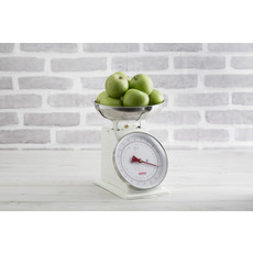 PORT-STYLE Living Scale Cream 4Kg/8Lbs Cap.