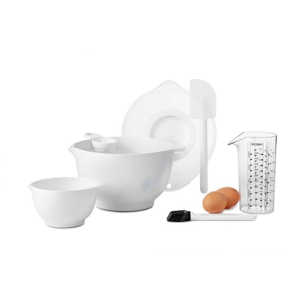 PORT-STYLE Margrethe Baking Set 7/St White