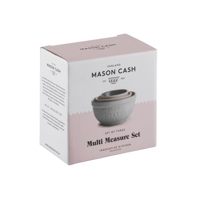PORT-STYLE Mason Cash Innovative Measuring Cups 6 Pieces