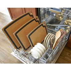 EPICUREAN Gourmet Series Cutting Board Natural / Slate Corners 19.5 X 15''