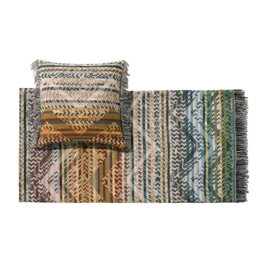 MISSONI HOME Yannoulis Cushion 16x16 in. (Color 164)