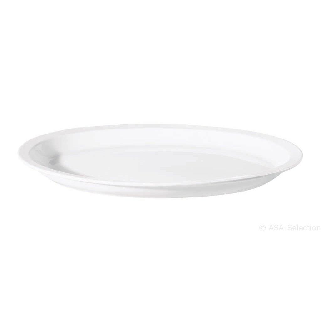 ASA GERMANY Grande Oval Platter - White