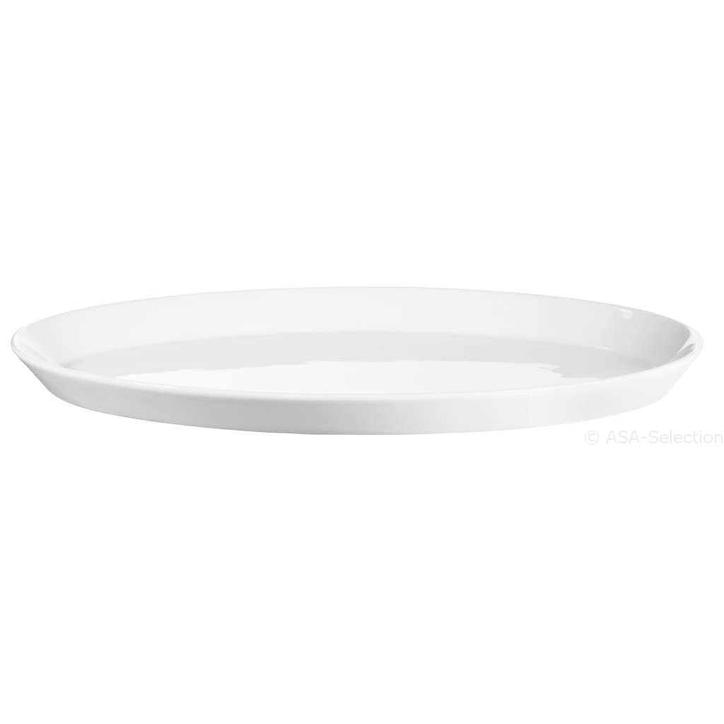 ASA GERMANY Poletto Plate Top, Oval 34x22x2,5cm
