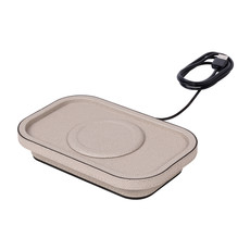 GIOBAGNARA Polo Fast Wireless Charger 13 x 20.5 cm Bordeaux