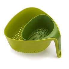 JOSEPH JOSEPH Nest Set of Two Green Colanders