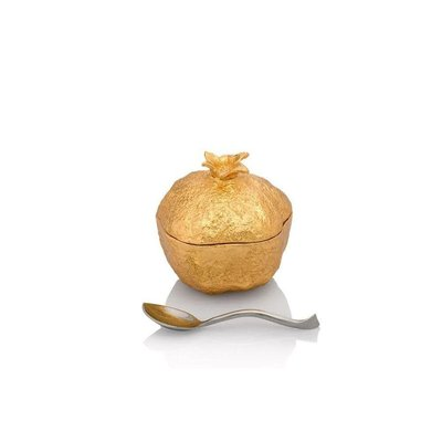 MICHAEL ARAM Pomegranate Mini Pot with Spoon