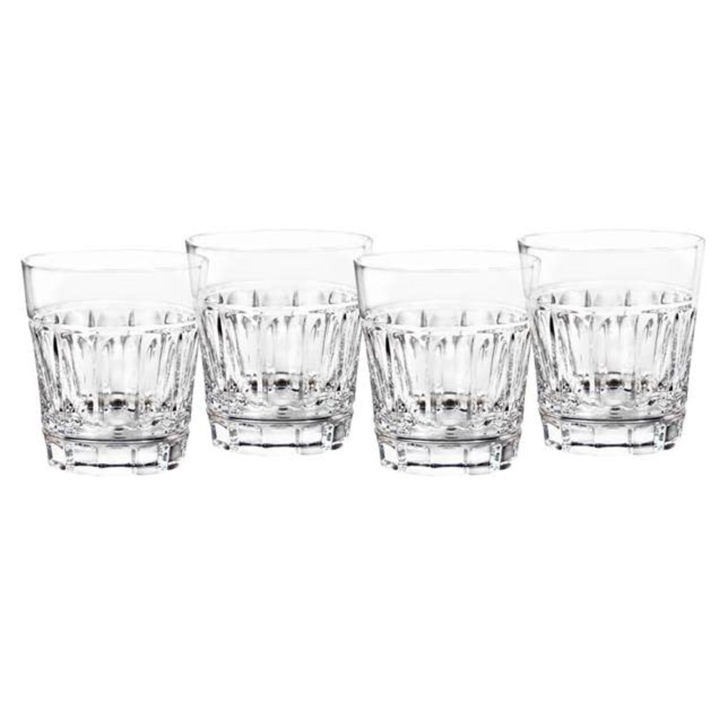 WATERFORD Bolton Double Old Fashioned Set/4 - 11 oz