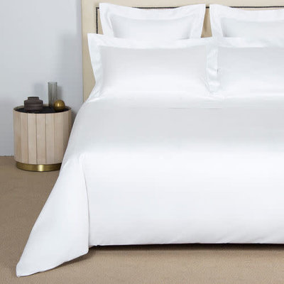 FRETTE Single Ajour King Duvet Cover White