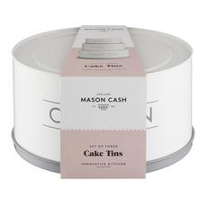 PORT-STYLE Mason Cash Moules à Gâteaux Innovants Ensemble de 3Mcx - 19 - 22 & 25 cm