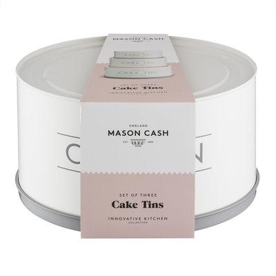 MASON CASH Mason Cash Moules à Gâteaux Innovants Ensemble de 3Mcx - 19 - 22 & 25 cm