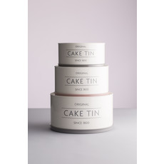 PORT-STYLE Mason Cash Innovative Cake Tins Set/3 - 19 - 22 & 25 cm