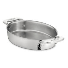 ALL-CLAD Stainless Oval Bakers Set/2