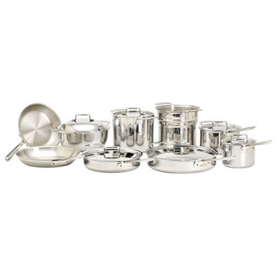 ALL-CLAD Polished D5 - 15 Piece Set