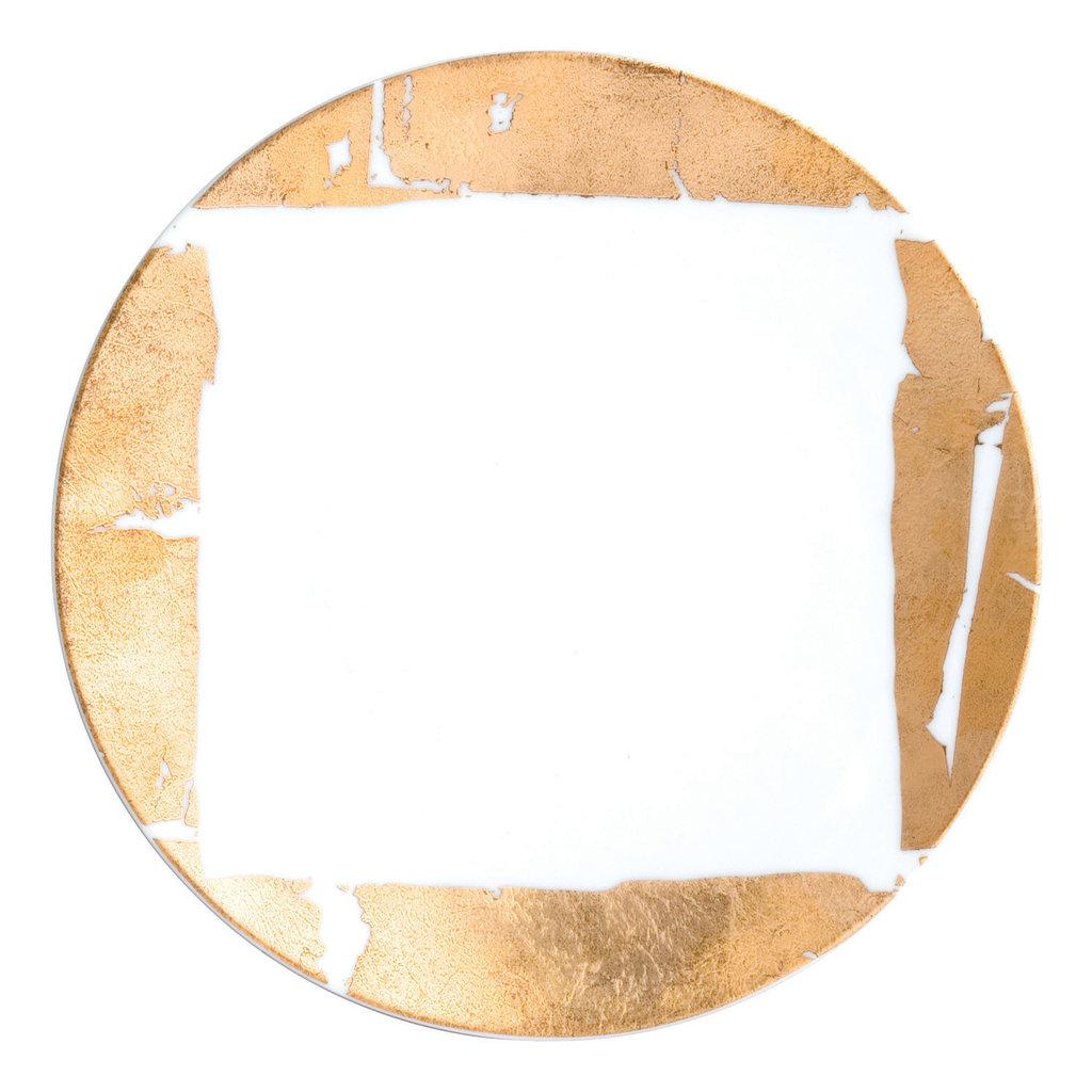 BERNARDAUD Gold/Silver Leaf Dinnerware Collection